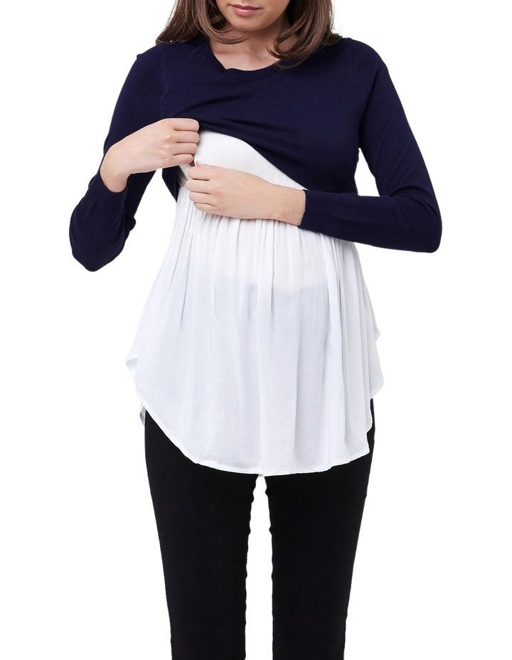 Babydoll Nursing Sweater image 4
