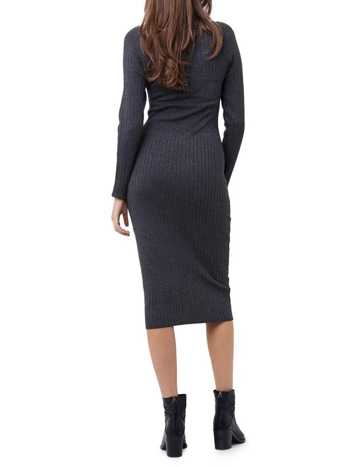 Rib Knit Bodycon Dress image 3