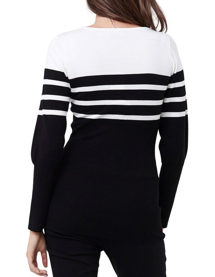 Stripe Bateau Knit image 3