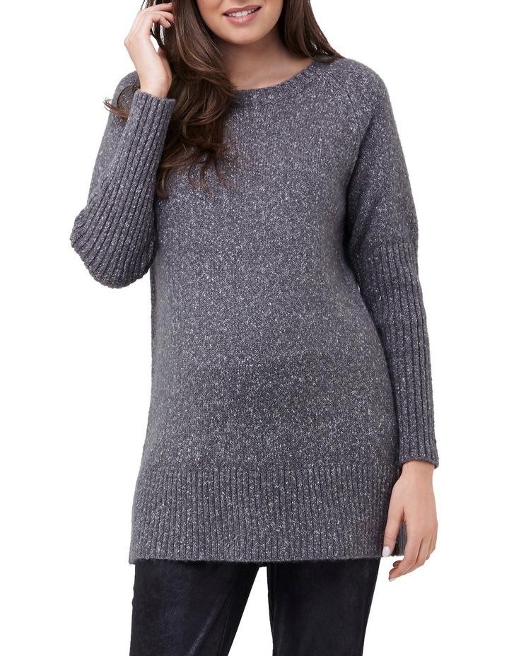 Cosy Knit Longline Sweater image 1