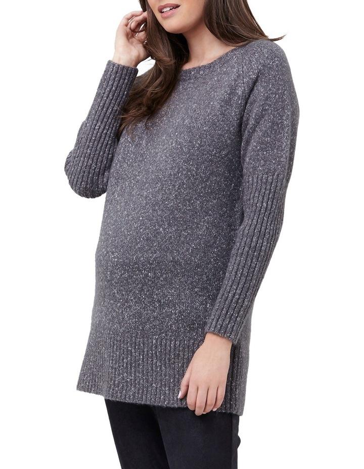Cosy Knit Longline Sweater image 2