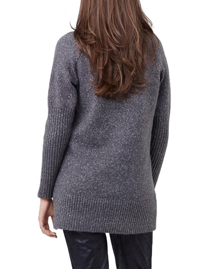 Cosy Knit Longline Sweater image 3