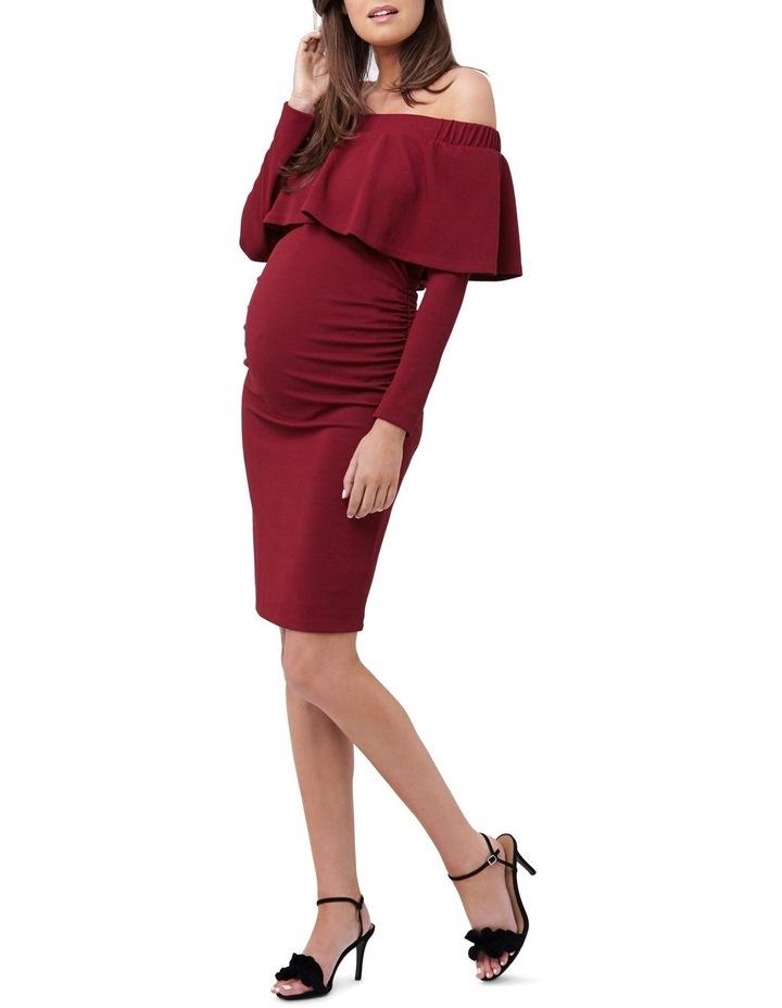 Soiree Off Shoulder Dress LS image 2