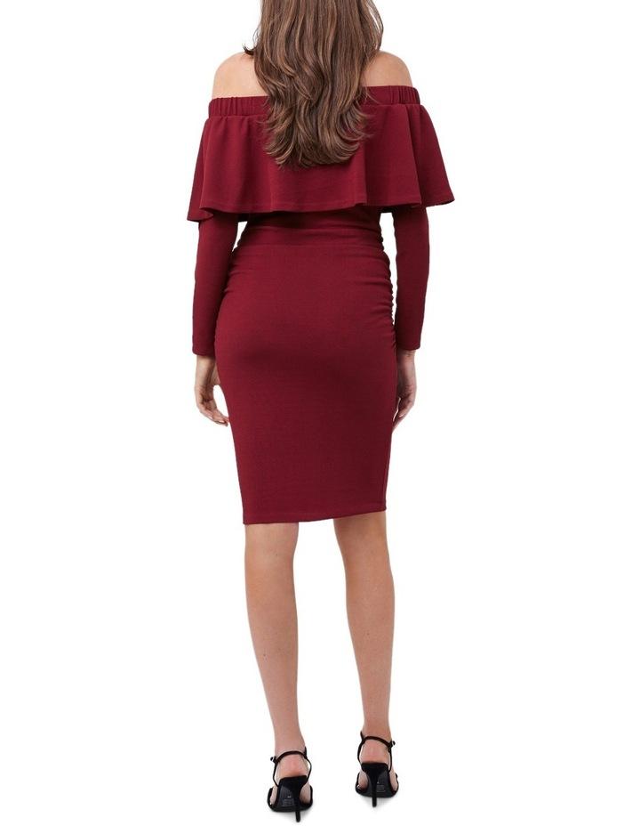 Soiree Off Shoulder Dress LS image 3