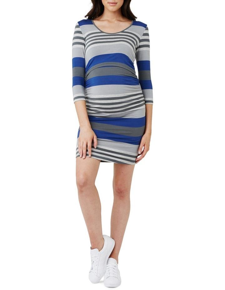 Striped Nursing Tube Dress image 1