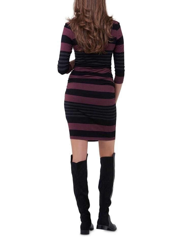 Striped Nursing Tube Dress image 3