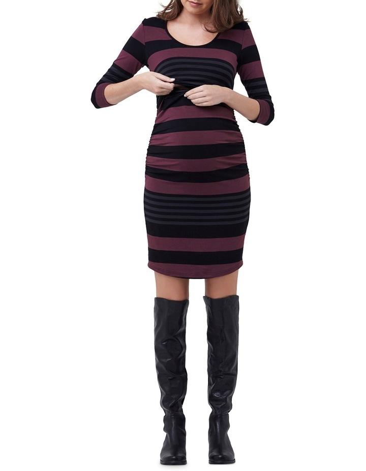 Striped Nursing Tube Dress image 4