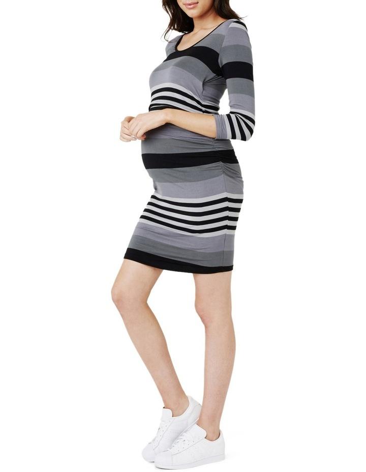 Striped Nursing Tube Dress image 2