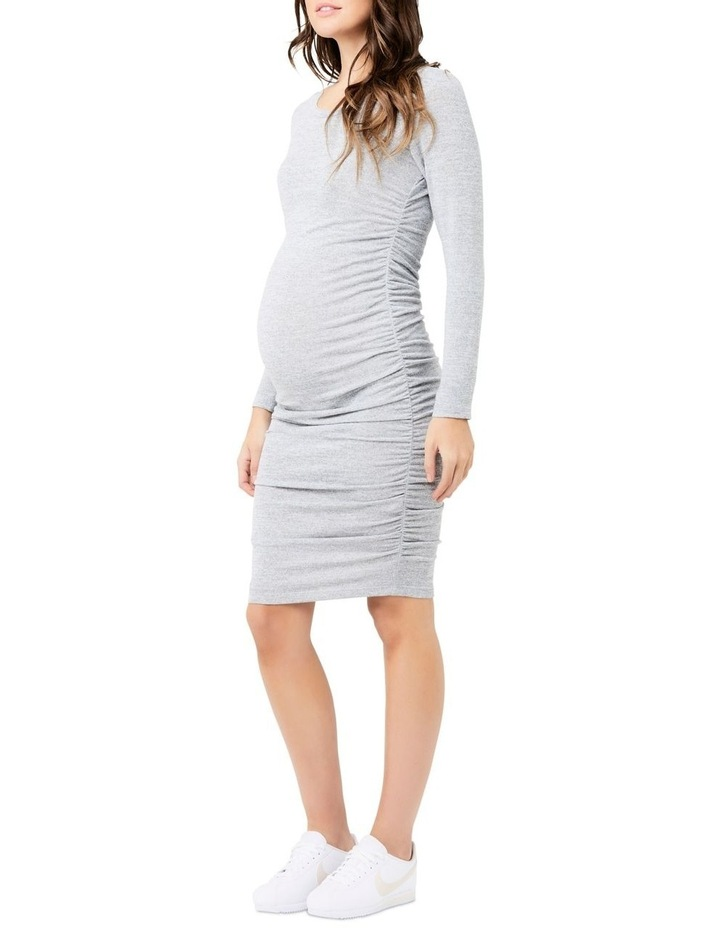 Textured Knit Cocoon Dress image 2