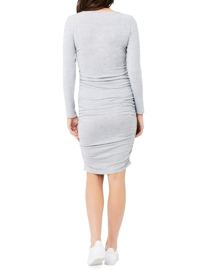 Textured Knit Cocoon Dress image 4