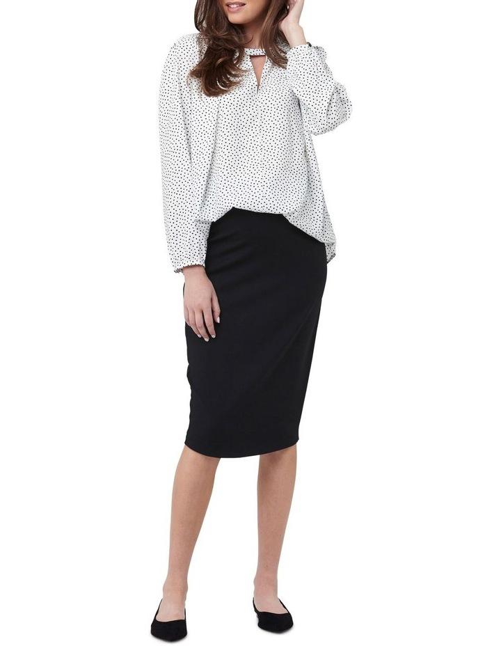Ponte Pencil Skirt image 1