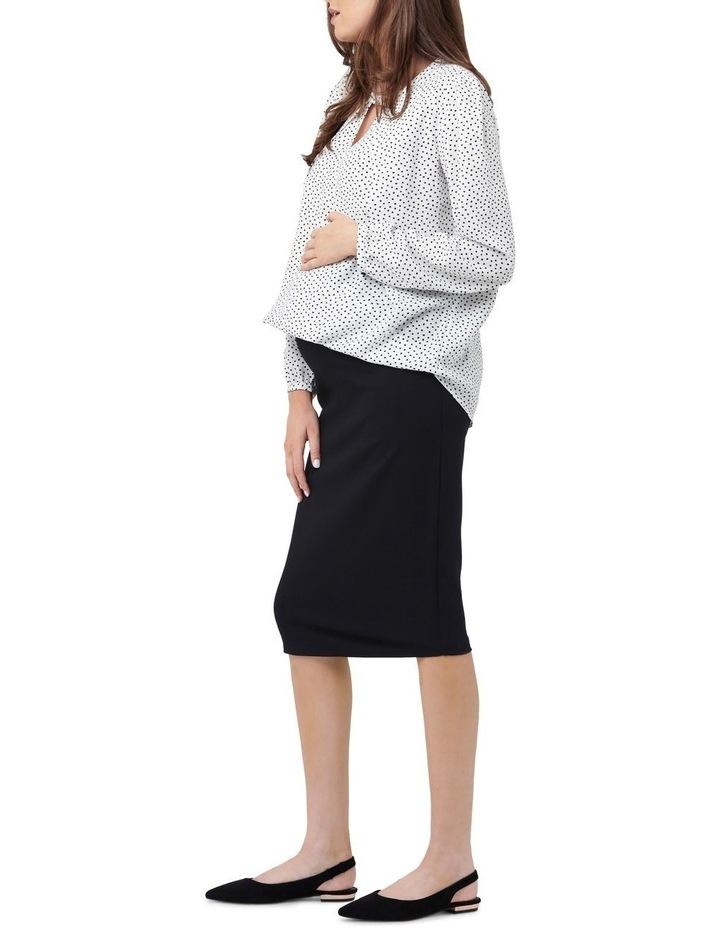 Ponte Pencil Skirt image 2