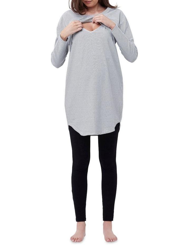 Long Sleeve Nursing Nightie image 4