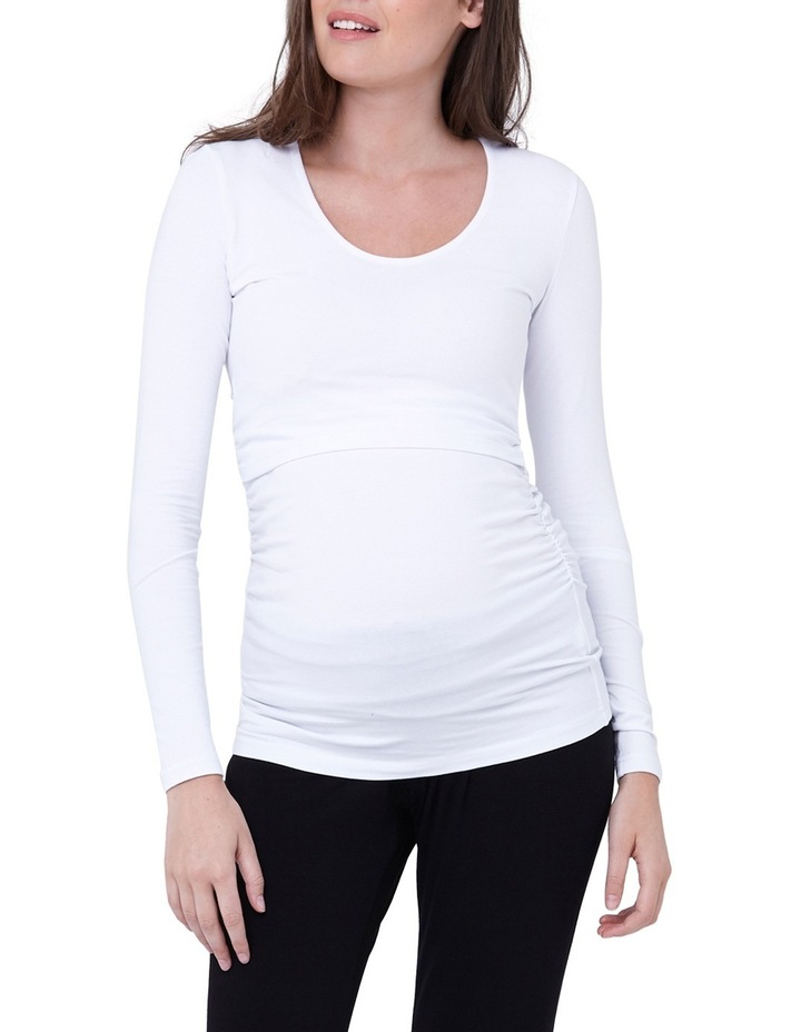Ali Up/Down Nursing Tee image 1