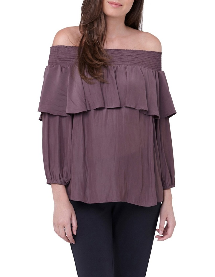 Off Shoulder Frill Top image 1