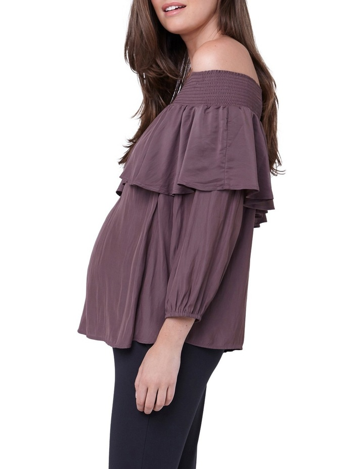 Off Shoulder Frill Top image 2