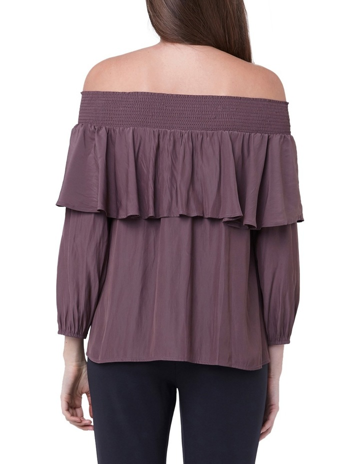 Off Shoulder Frill Top image 3
