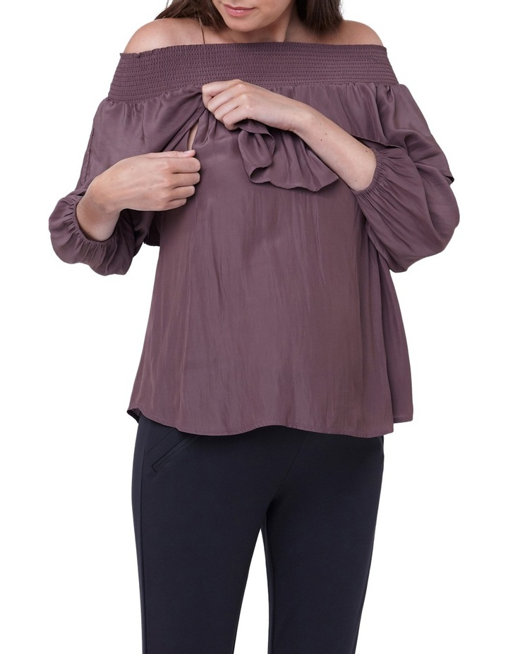 Off Shoulder Frill Top image 4