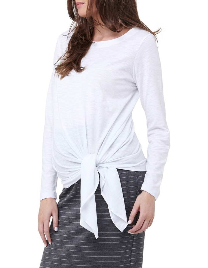 Side Tie Knot Top image 4