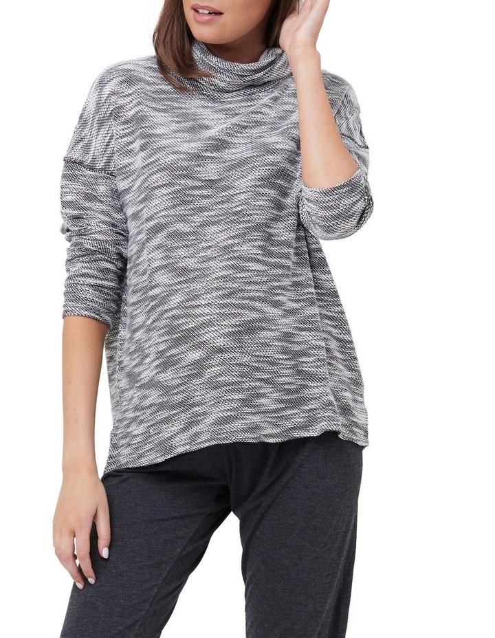 Textured Roll Neck Top image 1