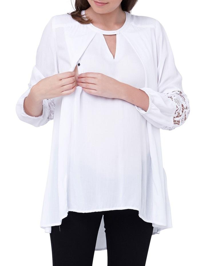 Hi Low Nursing Blouse image 4