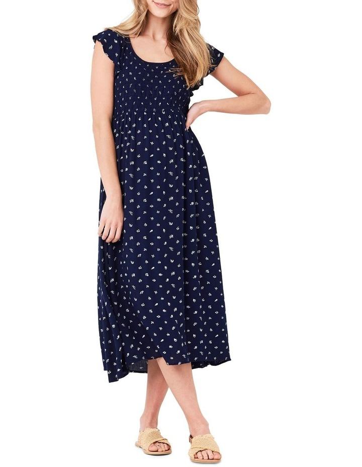 Bobbie Shirred Dress image 1