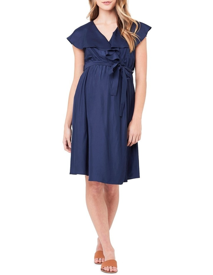 Frill Wrap Nursing Dress image 1