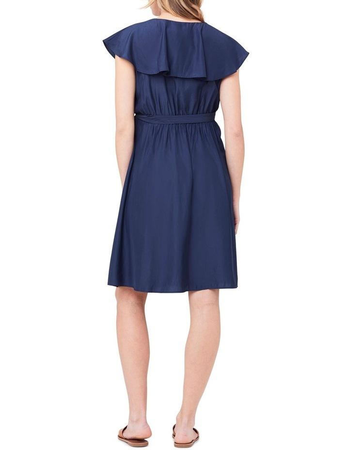 Frill Wrap Nursing Dress image 4
