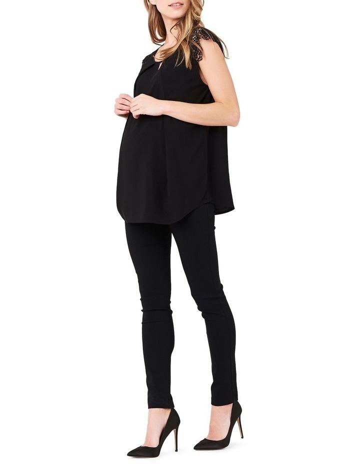 Lace Trimmed Nursing Blouse image 2