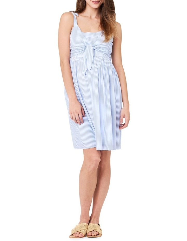 Sally Tie Front Nursing Dress image 1