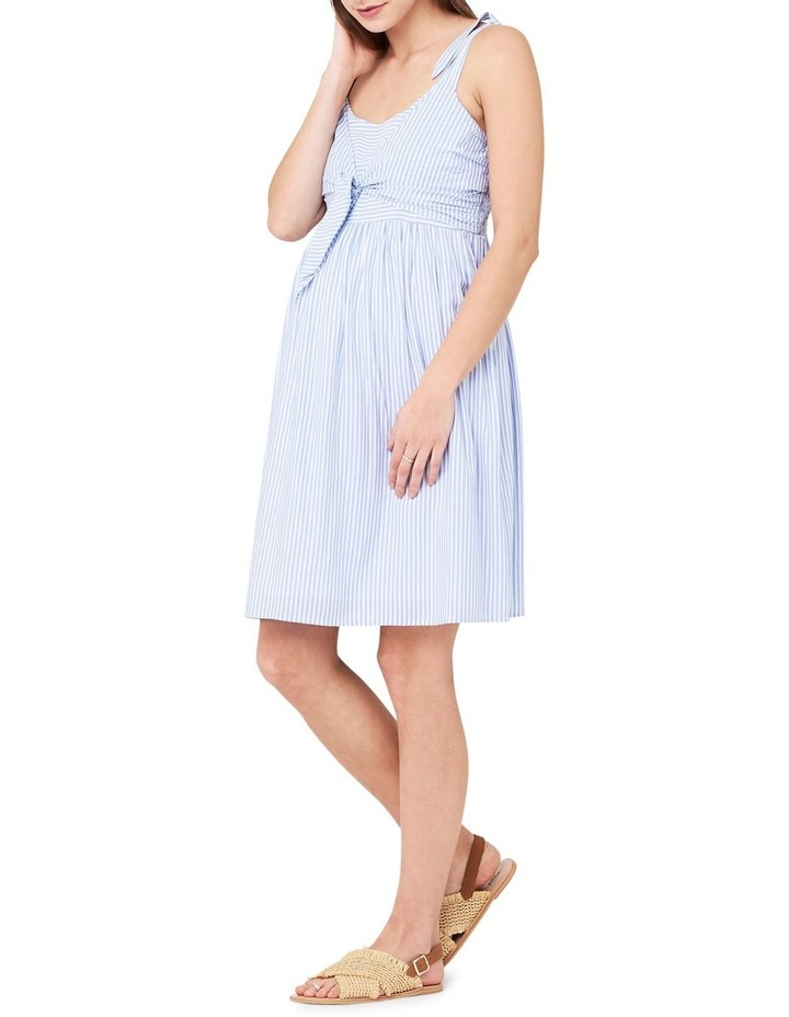 Sally Tie Front Nursing Dress image 2