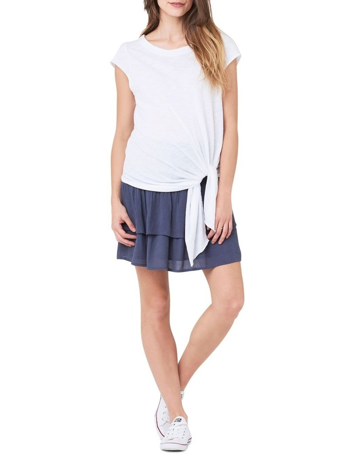 Shirred Waist Frill Skirt image 1