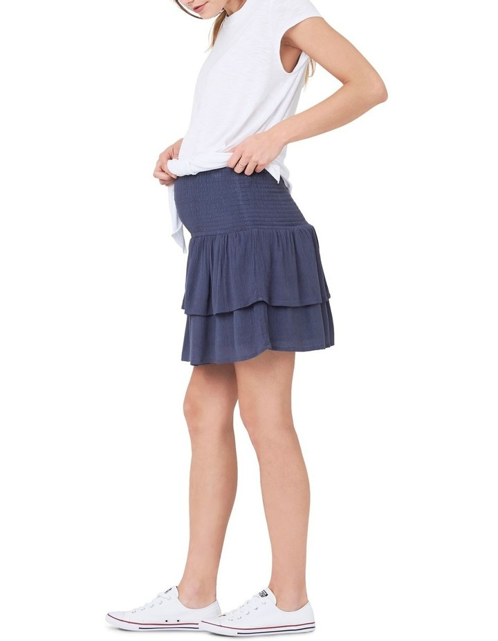 Shirred Waist Frill Skirt image 4