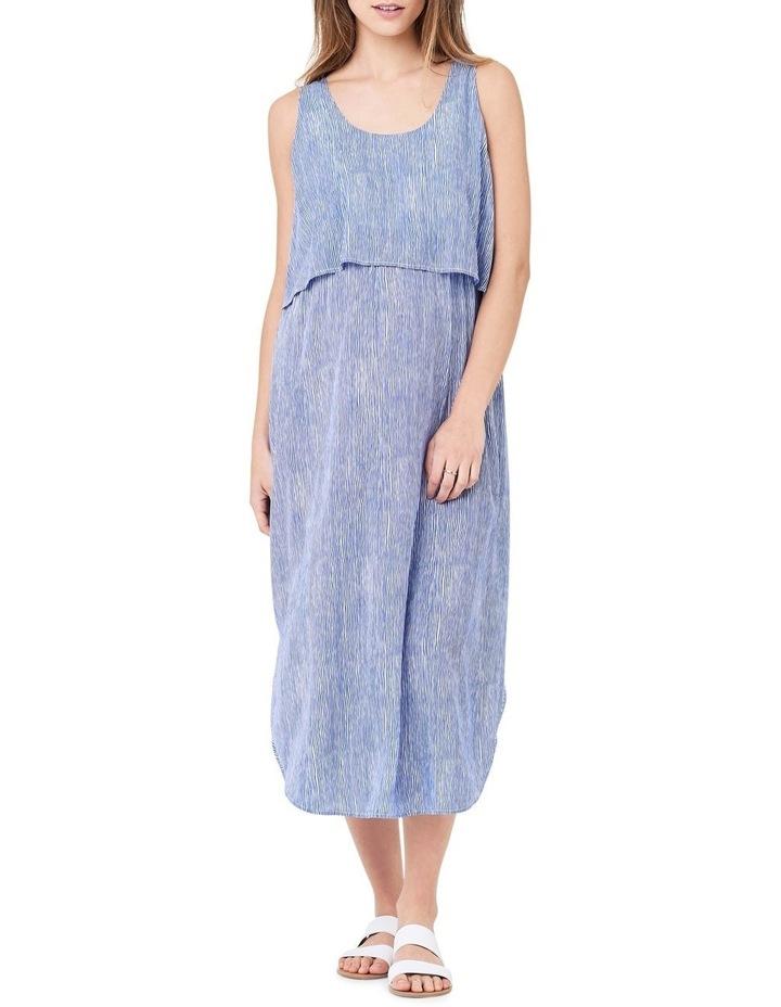 Stella Stripe Nursing Dress image 1