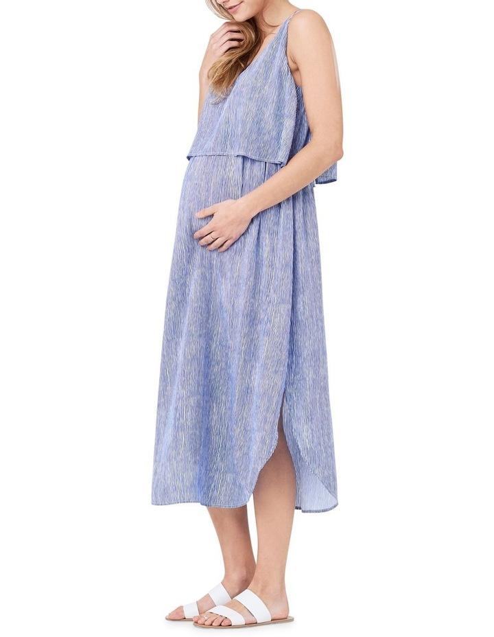 Stella Stripe Nursing Dress image 2