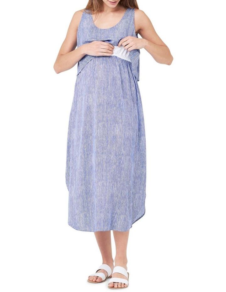 Stella Stripe Nursing Dress image 3