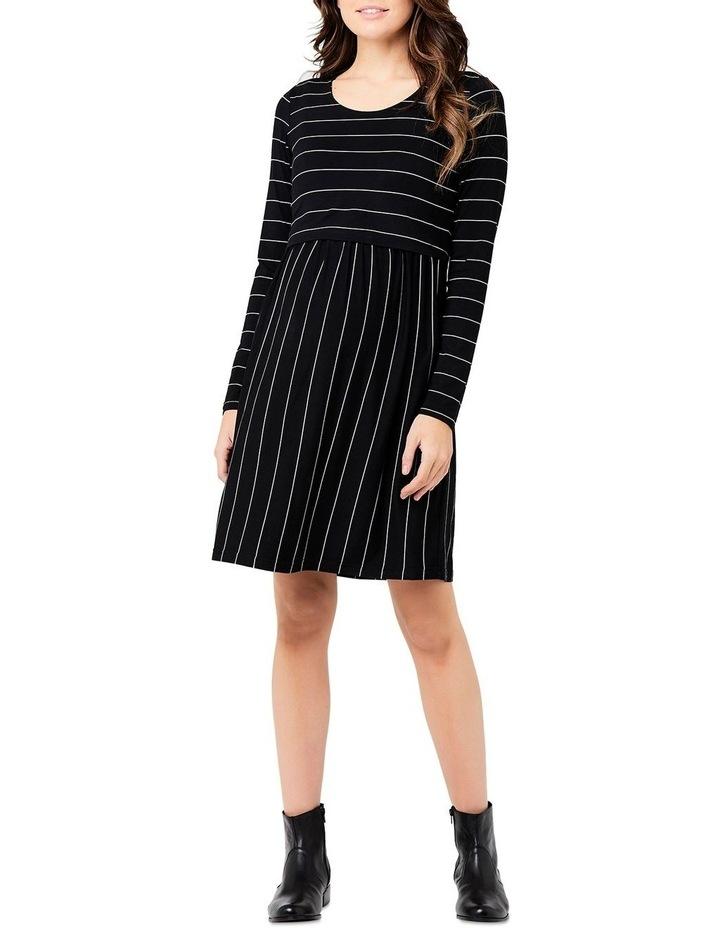 Crop Top Nursing Dress - LSlv image 1