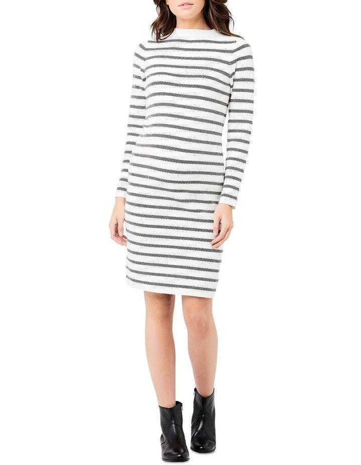 Grid Knit Dress image 1