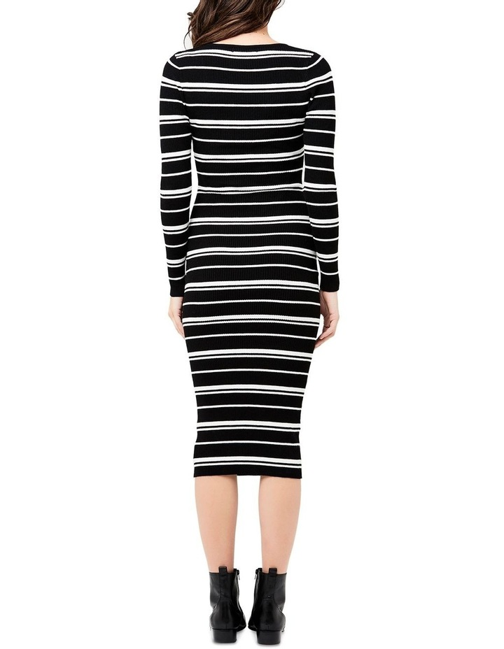 Jenna Rib Knit Dress image 4