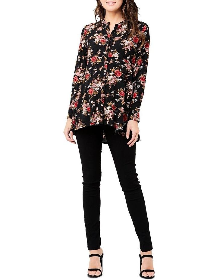 Karla Peplum Shirt image 1