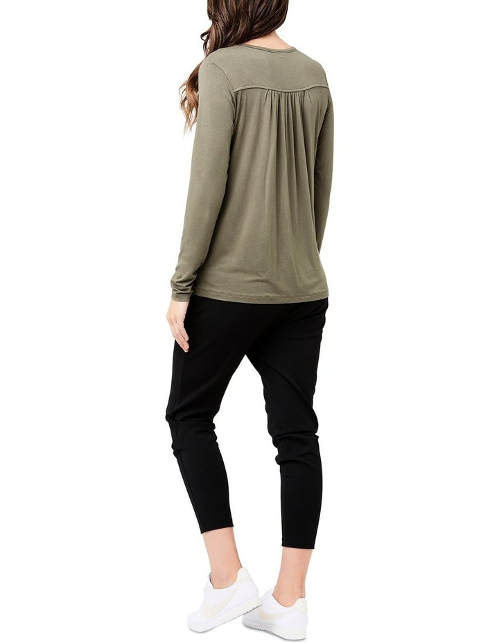Long Sleeve Lara Nursing Tee image 4