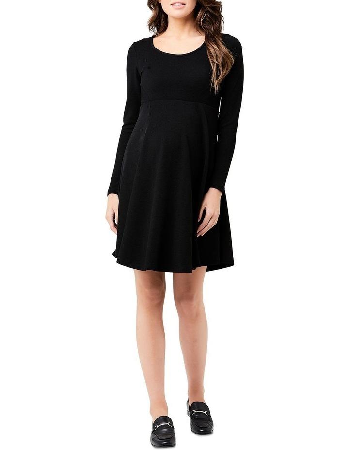Long Sleeve Skater Dress image 1