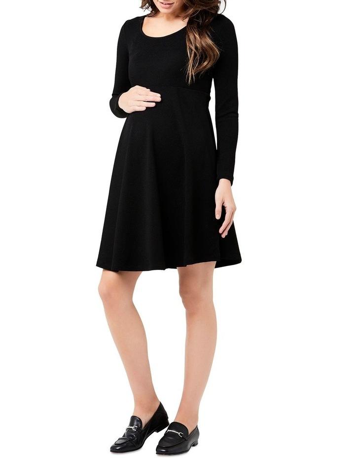 Long Sleeve Skater Dress image 3
