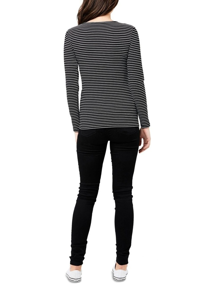 Round About Stripe Tee image 4