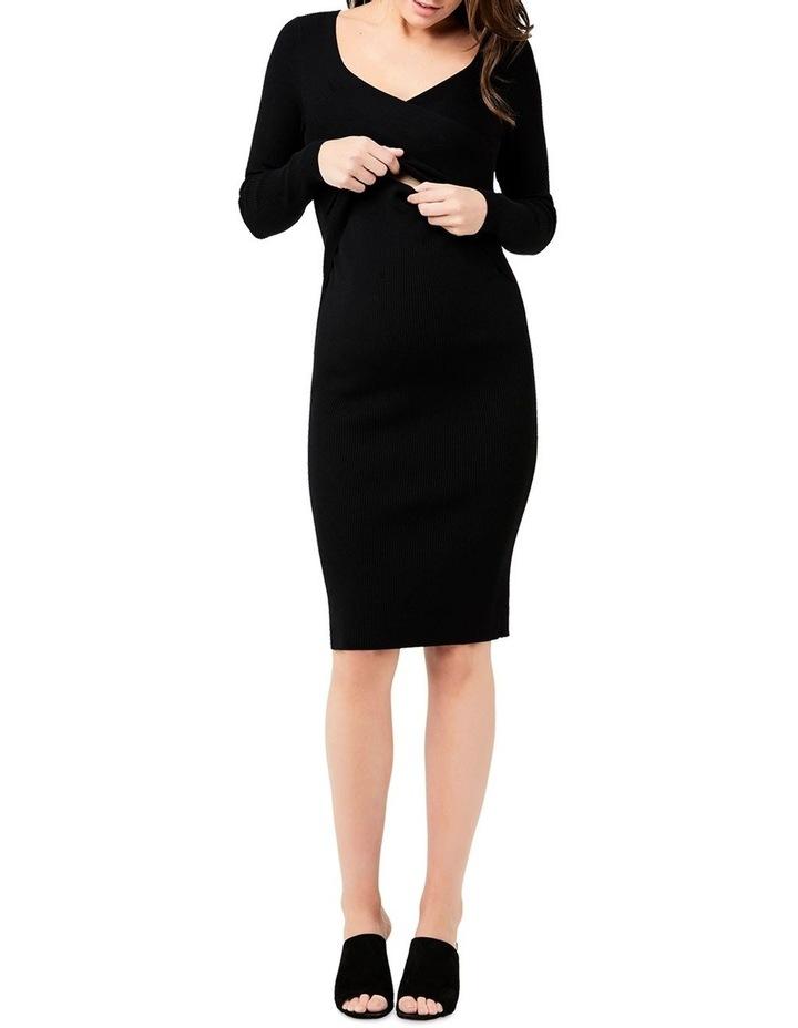Sadie Rib Knit Nursing Dress image 2