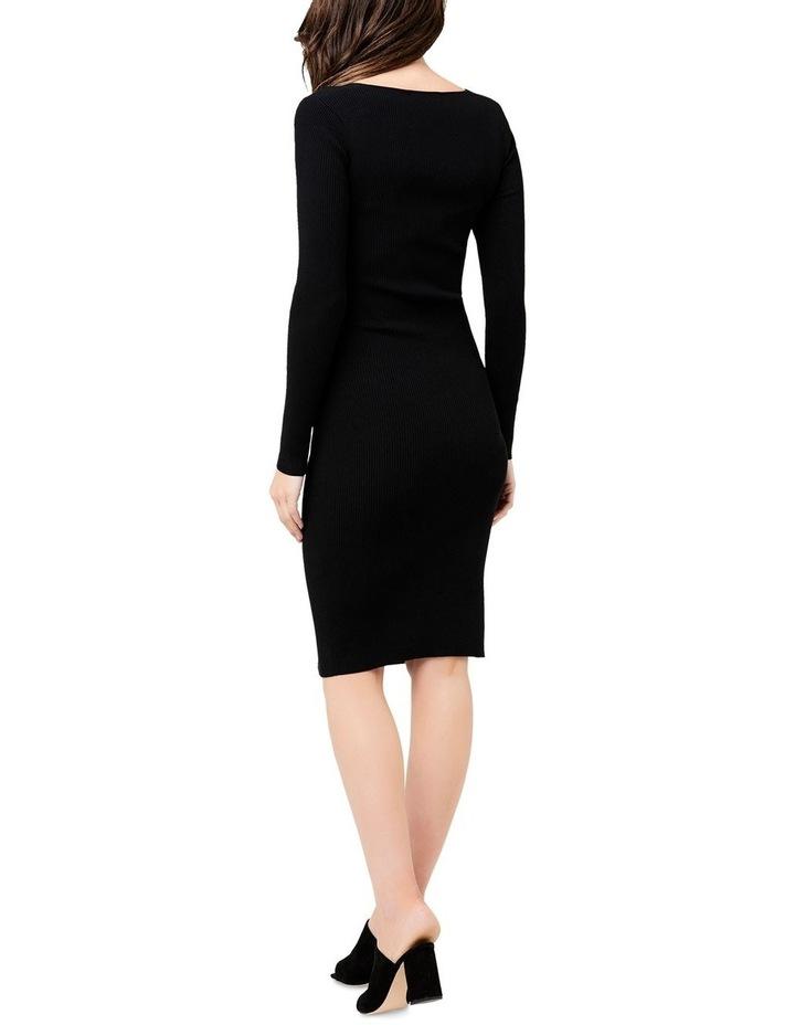 Sadie Rib Knit Nursing Dress image 4