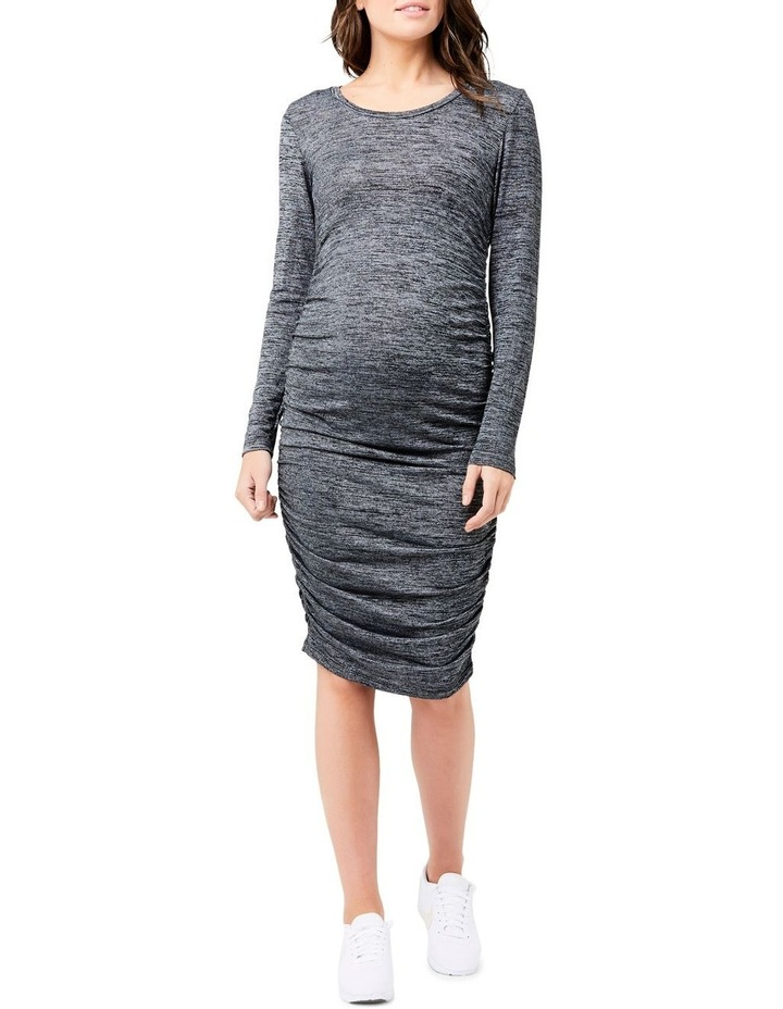 Textured Knit Cocoon Dress image 1