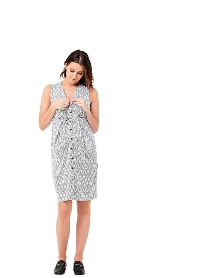 Chevron Caress Dress image 4