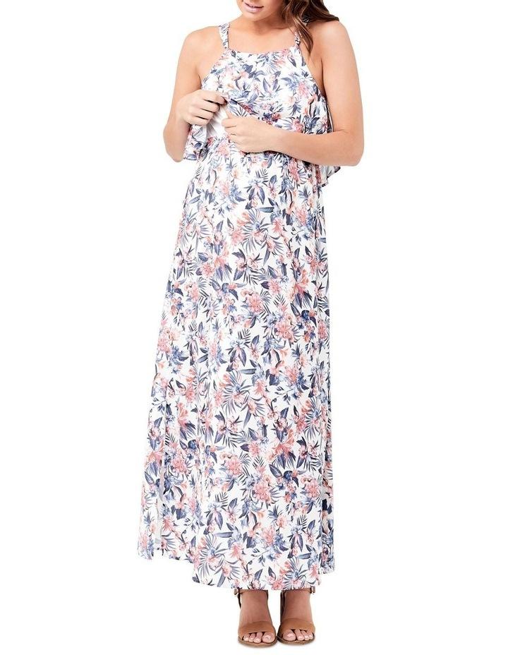 Kourtney Halter Nursing Dress image 4