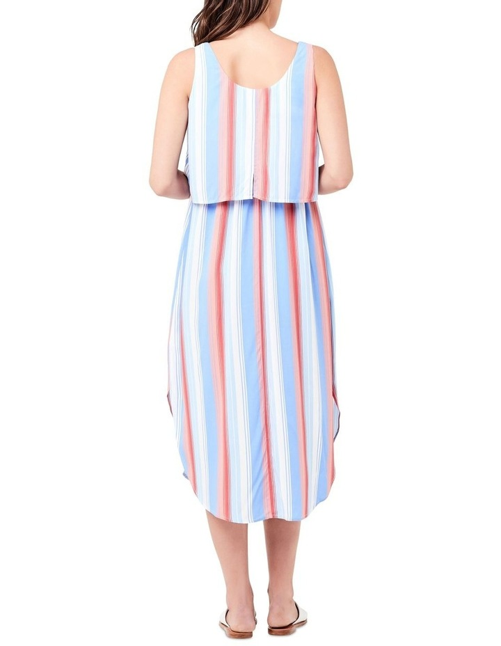 Luna Stripe Nursing Dress image 3
